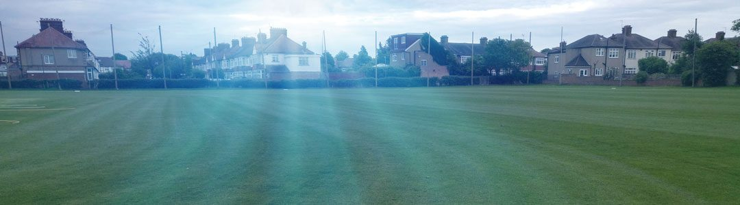Sports Ground in the sun